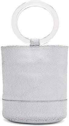 Simon Miller SSENSE Exclusive White Crackle Medium Bonsai 20 Bag