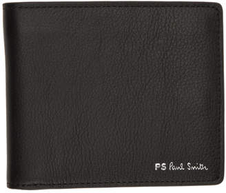 Paul Smith Black Leather Billfold Wallet
