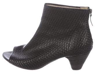Marsèll Woven Leather Booties