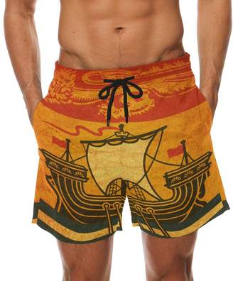 98efe5e7d4 Trunks Franzibla Vintage New Brunswick Provincial Flag Men's Swim Swimming  Beach Shorts Watershort