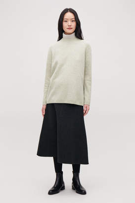 Cos WRAP-OVER LAMBSWOOL JUMPER