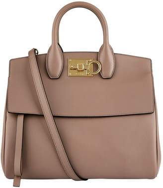 Salvatore Ferragamo Medium Leather Studio Bag