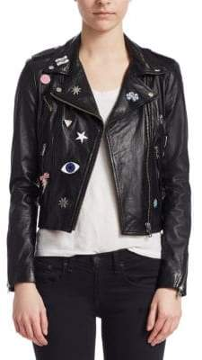 Moto LaMarque Donna Rock Patch Jacket