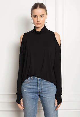 Feel The Piece Darian Cold Shoulder Turtleneck