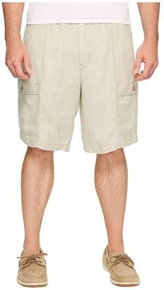 Tommy Bahama Big Tall Linen The Dream Cargo Lounger Men's Shorts