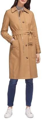 Whistles Zip-Detail Trench Coat