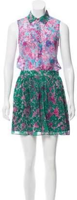 Gryphon Printed Silk Dress