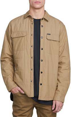Volcom Larkin Quilted Shirt Jacket