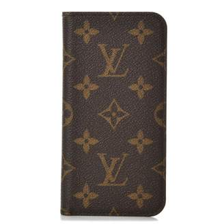 Louis Vuitton Folio Case Iphone X Monogram Brown