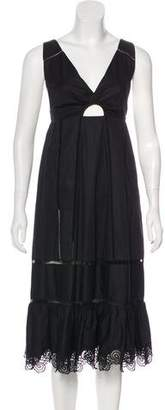 Thakoon Sleeveless Midi Dress