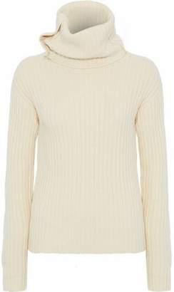 Joseph Ribbed Wool And Yak-Blend Turtleneck Sweater