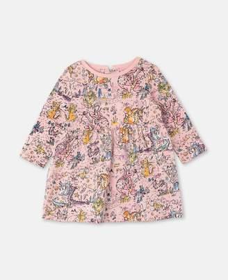 Stella McCartney Dragons Cotton Jersey Dress, Unisex