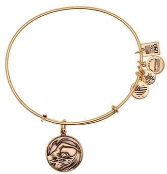 Alex and Ani Team USA Swimming Expandable Wire Charm Bracelet