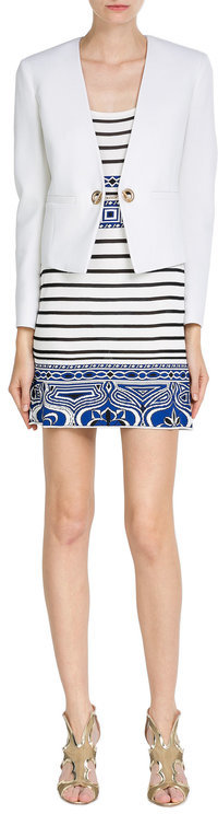 Emilio Pucci Emilio Pucci Striped Jersey Dress