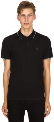 Belstaff Logo Cotton Piqué Polo Shirt