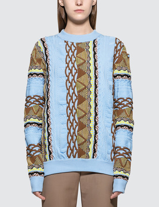 Aalto Coogi Knitted Pullover In Straight Fit