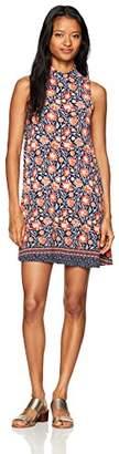 Angie Women's Mock Neck Knit Dress
