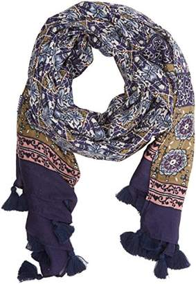 Fat Face Women's Indian Patchwork Scarf,(Manufacturer Size: One)
