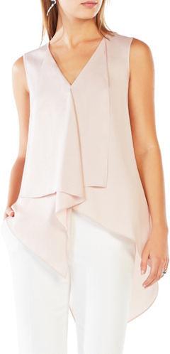 BCBGMAXAZRIABcbgmaxazria Cyprien Asymmetrical Tunic Dress