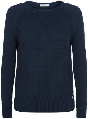 Barbour Bridport Textured Knit Sweater