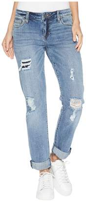 KUT from the Kloth Catherine Boyriend Cut Out Back Pocket Jeans in Excellent Women's Jeans