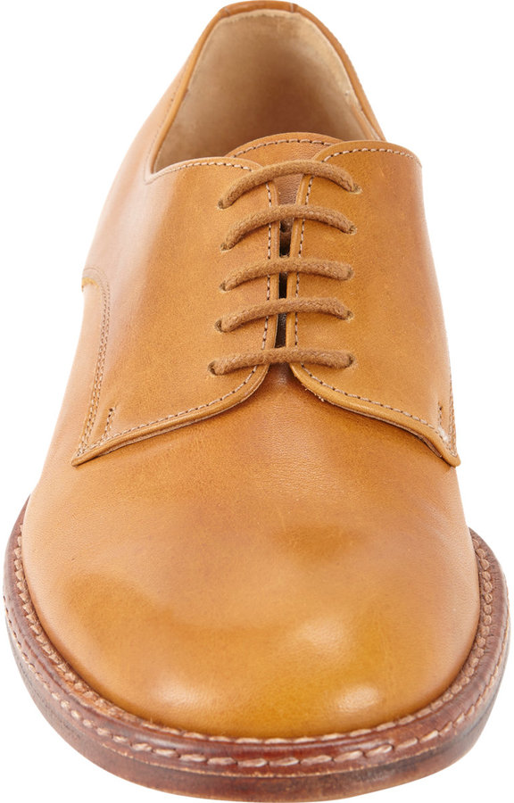 Maison Martin Margiela Stitch-Extended Lace-Up Oxfords