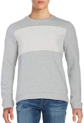 Strellson Textured Cotton Sweatshirt