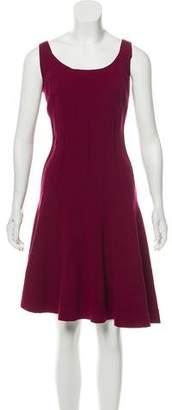 Oscar de la Renta Sleeveless Flared Dress w/ Tags