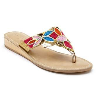 88e218fc835 Matisse Sayulita Beaded Demi Wedge Sandal