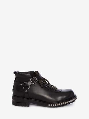 Alexander McQueen Harness Hiking Boot