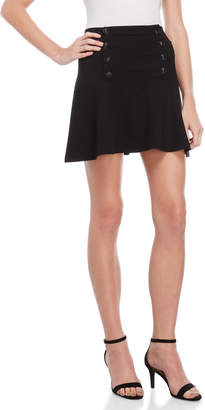 Juicy Couture Button Front Skater Skirt