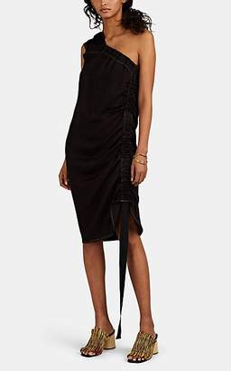 Zero Maria Cornejo Women's Clio One-Shoulder Asymmetric Dress - Ebony