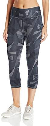 Champion Women's Absolute Capri Legging with Smoothtec Waistband Print $23.11 thestylecure.com