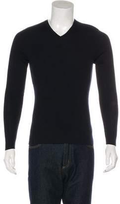 Ralph Lauren Black Label Wool V-Neck Sweater