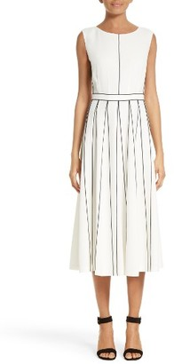 Women's Lafayette 148 New York Mariposa Finesse Crepe Dress $698 thestylecure.com