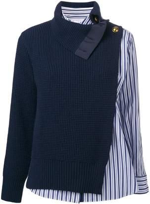Sacai Hybrid Sweater Shirt