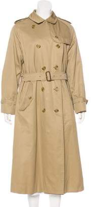 Burberry Wool-Lined Long Coat