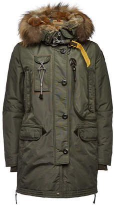 ... Parajumpers Kodiak Down Jacket with Fur Trimmed Hood