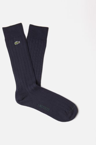 Lacoste Men's Flat Rib Trouser Sock
