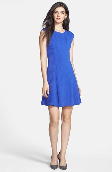 Rebecca Taylor Ponte A-Line Dress