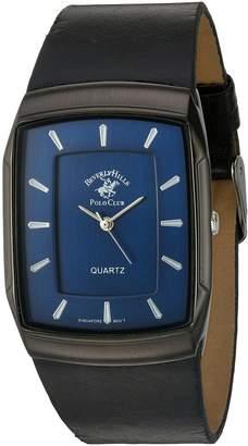 Beverly Hills Polo Club US Men's 53299 Analog Display Analog Quartz Black Watch