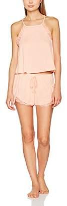 New Look Women's Cupro Lace Pyjama Sets