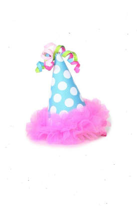 Mud Pie Birthday Hair Clip
