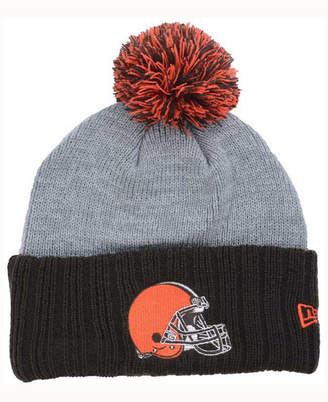 New Era Cleveland Browns Heather Stated Knit Hat