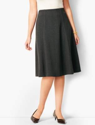 Talbots Herringbone Fit & Flare Skirt