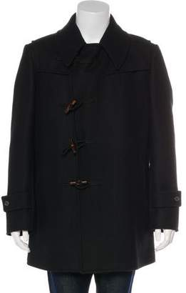 Gucci Wool Toggle Coat