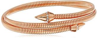 Vince Camuto Coil with Pave Cone Burnt Rose Gold Bracelet