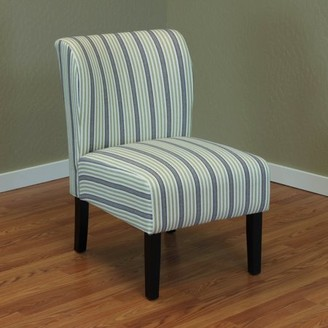 Monsoon Pacific Sauzon Green Stripe Upholstered Chair