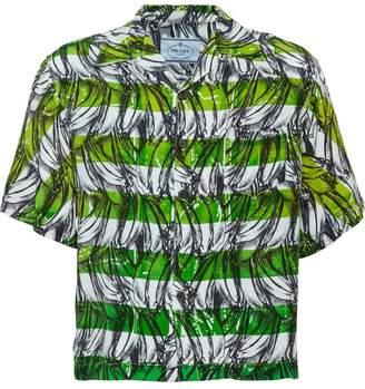 Prada Short-sleeved printed shirt