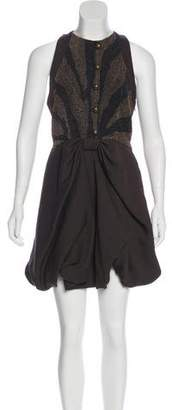 Proenza Schouler Embellished Mini Dress w/ Tags